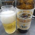 三幸苑 - ビール(小)
