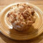 カフェ グローブ - 季節のマフィン (紅玉りんごとクリームチーズ)