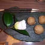松園 - 料理写真:どんぐりパン