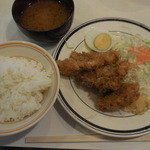 一乃瀬 - カキフライ定食 ¥800-