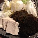 がちまや~ - 鍋の野菜