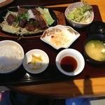 大集合 - サイコロステーキ定食