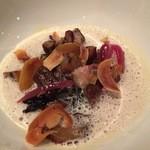 45671978 - フォワグラと栗の前菜