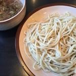 麺匠 がむしゃら - つけ麺のとりがらスープ