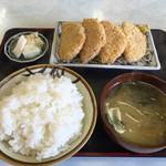 第一食堂 - 151220 ハムカツ定食