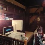 45675621 - 帳場と階段箪笥