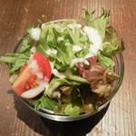 ビアパブ ファイズ - ランチのサラダ