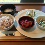 Cafe&Meal MUJI - 選べるDELI3品+十穀米