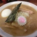 45678125 - 煮干中華そば(750円)に味付玉子(100円)