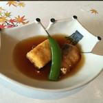 45678318 - みずほ 鱈と豆腐のあんかけ