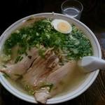 麺屋横手 - 塩ラーメン(大)¥900-