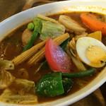心 - ★★★★ 14種類の野菜スープカレー