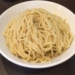 麺屋りゅう - つけ麺の麺(特盛)