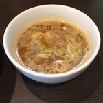 麺屋りゅう - つけ麺のつけ汁