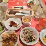 45679958 - ドリンク、前菜、スープ、惣菜                       ビュッフェコーナーにて