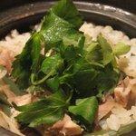 雅Japo - 地鶏と山菜の土鍋炊きご飯880