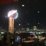 焼肉と夜景 醍醐 - 席からの眺めが良いです!