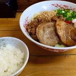 特製汁なし担々麺+ミニライス
