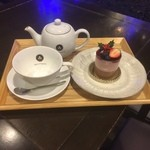 カフェ三菓亭 - 季節のケーキセット