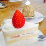 こぐま洋菓子店 - 優しい味のショートケーキ。