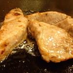 能登 - 鮪のホホ肉バター焼き