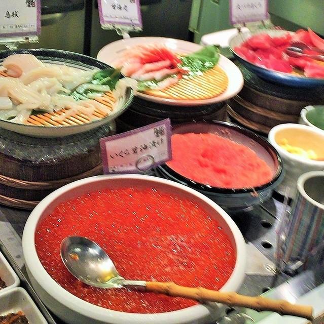 ラビスタ函館ベイ - 人気の海鮮丼コーナー