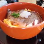 加賀屋 - ステーキ丼・並盛り