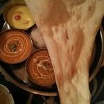 Tara - レディースセット1,280円税込( カレーは2種類、ナン+ライス、デザート、スープ、マライカバブ、シシカバブ)