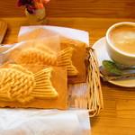 タイイチカフェスタイル - ぽてたま、おぐら、コーヒー