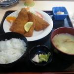 みやこ家 - 魚フライ定食