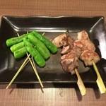 仲町ガバチョ - レバー1串、150円です。