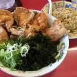 宝島 - 料理写真:からあげらーめん+チャーハン