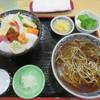 とまり木 - 料理写真:生ちらしセット 1000円