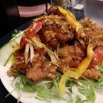 中華食堂 くろ - 2015.12 特製くろの ザンギ