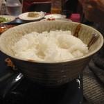 中華食堂 くろ - 2015.12 ライス(大盛り)