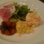 カンティーナ シチリアーナ - 前菜の盛り合わせ