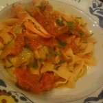 カンティーナ シチリアーナ - 手打ちパスタ 渡り蟹とズワイ蟹のトマトソース
