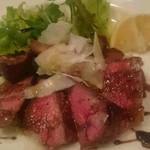 カンティーナ シチリアーナ - 牛肉のタリアータ