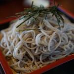 そば処幸山 - 料理写真:かなり白いお蕎麦です。『2015.12月』