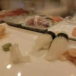 新橋しのだ寿司 - やりいか150円×2
