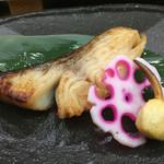 鮨処 菱 - 焼魚