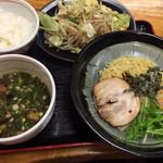 45693484 - 野菜炒めとつけ麺小♡
