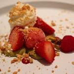 マンサルヴァ - ドルチェ:苺・ホワイトチョコ・ピスタチオ・フランボワーズ