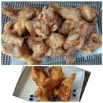 佐藤鶏肉店 - 下味もよく浸みていて、身も柔らかくジューシーで美味しいそうですよ。
