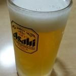 魚や 翻車魚丸 - やっぱり生ビール