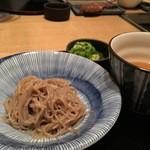 旅亭 まんぷく - 一口和風冷麺