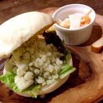 いまここcafe 杜丸 - 料理写真:杜丸サンドイッチ 300円