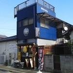 いちみ - 店構え(青色の建物)
