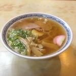 吉田食堂 - 中華そば 550円