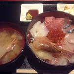 45699540 - 厳選鮮魚の海鮮丼定食